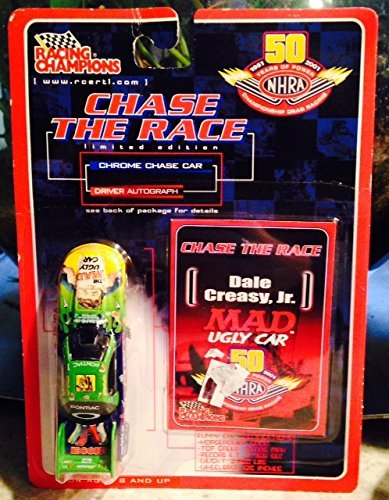 Racing Champions NHRA Chase the Race Dale Creasy, Jr. MAD Ugly Car ERLT 1:64 Die-cast Replica