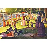 110 Color Paintings of Georges Seurat - French Post-Impressionist Painter (December 2, 1859 - March 29, 1891) (English Edition)