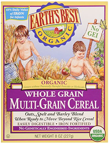 Earth'S Best Multi Grain Cereal 8 Oz - (Pack Of 12) front-96416
