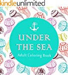 Adult Coloring Book: Under the Sea (5...