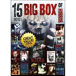 15-Movies Big Box of Horror V.2