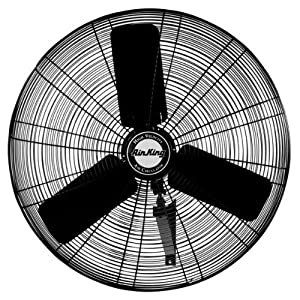 Amazon.com - Air King 9024 24-Inch Industrial Grade Wall Mount Fan