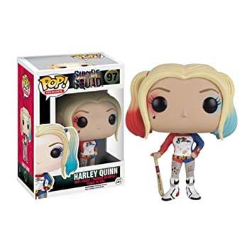 Figurine Pop ! Heroes 97 - Suicide Squad - Harley Quinn