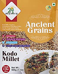 24 Organic Mantra Products Kodo Millet, 500g