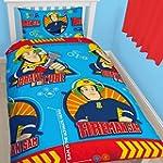 Fireman Sam - Kids Reversible duvet c...