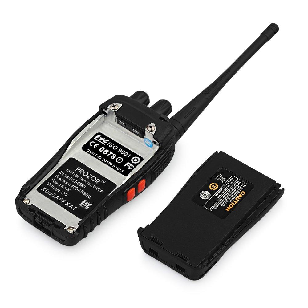 prozor pst88x4 pst 888s 8 pcs rechargeable walkie talkies prozoreu