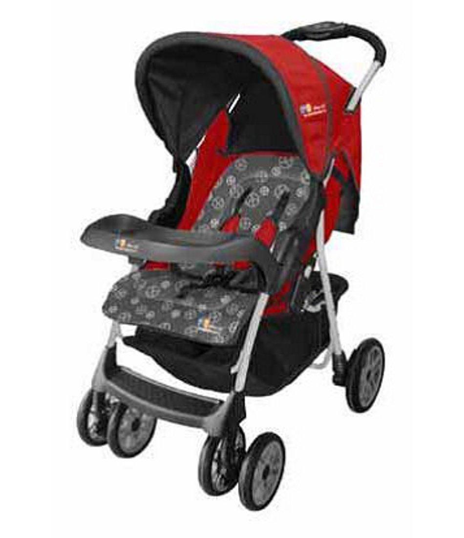 Lil Wanderers Stroller Ha 2810N Grey/Red