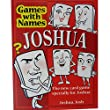 JOSHUA'S GAME: New stocking filler for men or boys called Joshua or Josh (also a fab secret santa or fun birthday or christmas party present or special original xmas gift for the man who has everything !)