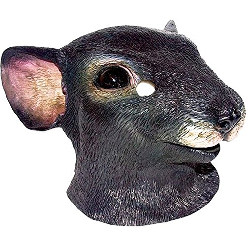 Latex Full Head Rat Mouse Rodent Mask
