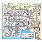 バインデックス 東京・大阪周辺鉄道路線図 A5-514