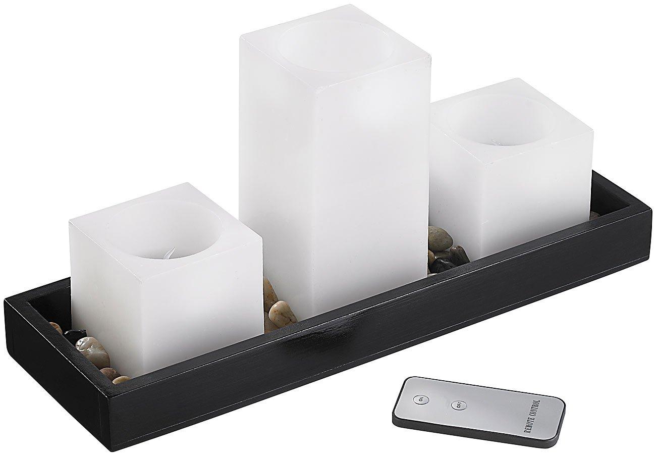 Britesta Feng-Shui-Dekoration: LED-Echtwachskerzen