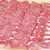 牛カルビ 焼肉用 1kg 豪州産 赤身肉