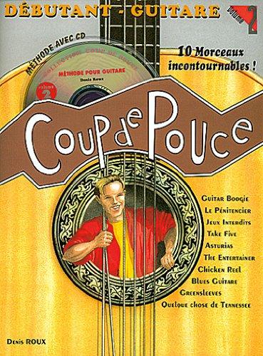Denis Roux Coup de pouce Guitare acoustique, tome 2 (+ 1 CD) Roux Denis Carisc
