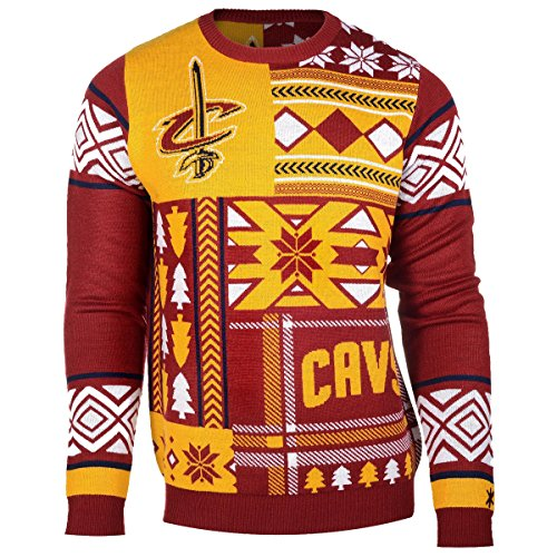 Cleveland Cavaliers Patches Ugly Sweater