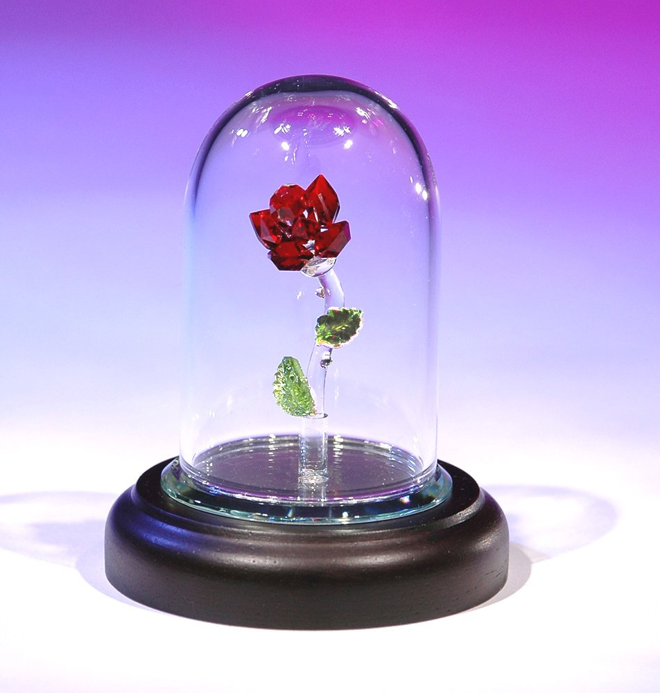 """CRYSTAL WORLD """"Enchanted Rose"""" – Collectible Figurines"""