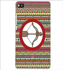 PrintDhaba Zodiac Sagittarius D-5663 Back Case Cover for HUAWEI P8 (Multi-Coloured)