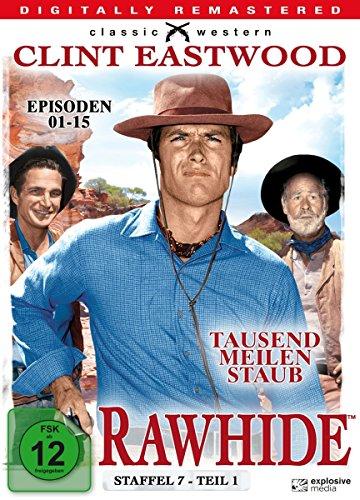 Rawhide - Tausend Meilen Staub - Season 7.1 [4 DVDs]