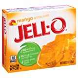 Jell-O Mango Gelatin Mix 3 Ounce Box