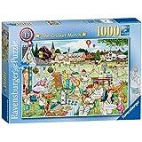 Ravensburger Best of British The Cricket Match Puzzle (1000-Piece)