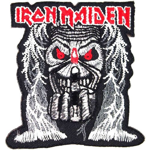 IRON MAIDEN Heavy Metal Rock Music Band Iron On Patches # WITH FREE GIFT (Cheap Iron On Patches compare prices)
