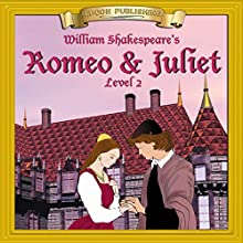 Romeo and Juliet: Easy Reading Shakespeare Audiobook by William Shakespeare Narrated by  Iman