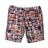 大きいサイズ メンズ Dickies(ディッキース) チェック柄 パッチワークシャツ ショートパンツ