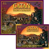 Settlers Of Catan Traders And Barbarians Expansion And 5-6 Player Extension