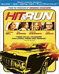 Hit &#038; Run  (Two-Disc Combo Pack: Blu-ray + DVD + Digital Copy + UltraViolet)