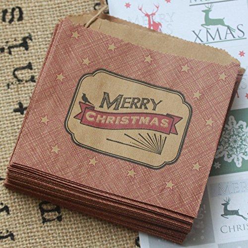 east-india-lot-de-40-sacs-en-kraft-inscription-merry-christmas-en-anglais