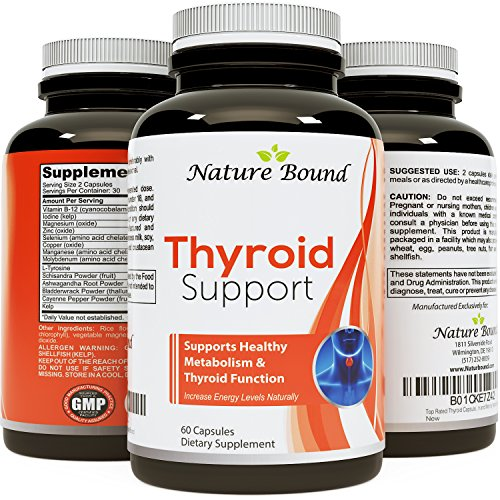 Top Rated Thyroid Capsules Thyroid Helper for Weight