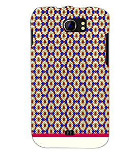 PrintDhaba Floral Pattern D-1543 Back Case Cover for MICROMAX A110 CANVAS 2 (Multi-Coloured)