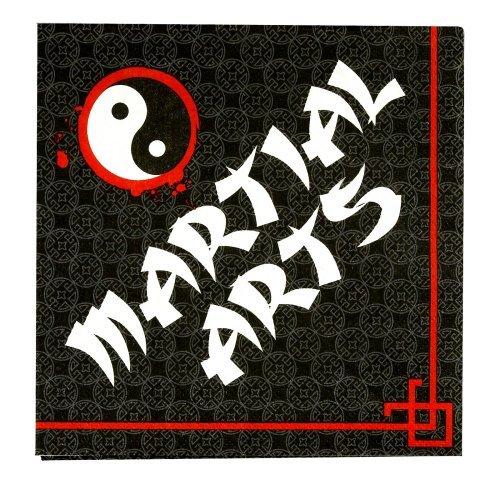 Martial Arts Napkins (16) Party Supplies