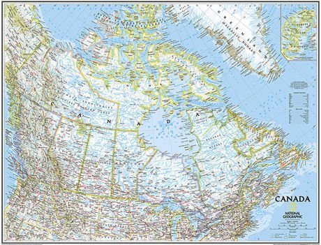 National Geographic Maps RE01020530 Canada Executive