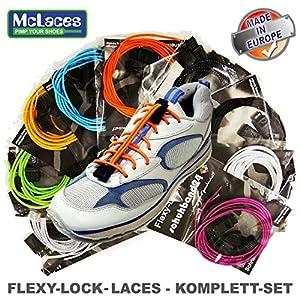 Flexy-Lock-Lace Schnellschnürsystem, Triathlon-Schnürsystem (blau)