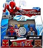 Marvel Minimates Exclusive Amazing Spider-Man 2 Movie Series 56 Mini Figure 2-Pack Flashback Spider-Man & Max Dillon