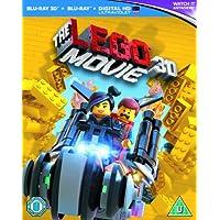 The Lego Movie [Blu-ray 3D + Blu-ray + UV Copy] [2014] [Region Free]