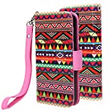 Galaxy S4 Case, Galaxy S4 Flip Case Cover - E LV Deluxe PU Leather Folio Wallet Case Cover For Samsung Galaxy...