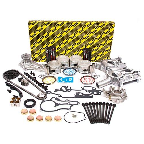 Evergreen OK2000M/0/0/0 85-95 Toyota 2.4L SOHC 8V 22R 22RE 22REC Master Overhaul Enigne Rebuild Kit (22re Intake Manifold compare prices)