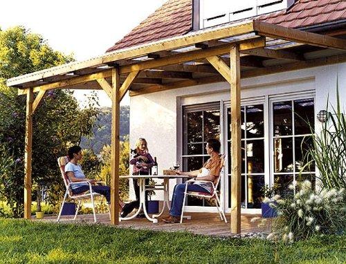 TerrassenUberdachung Holz Gebraucht ~ Terrassendach Bausatz Holz kaufen, Preiswert inkl Lieferung!