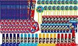 Disney Mickey Mouse 100 Piece Party Super Mega Favor Pack Birthday Party Supplies