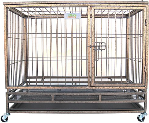 Go Pet Club Heavy Duty Metal Cage, 37-Inch by