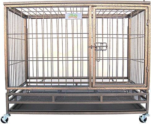 Go Pet Club Heavy Duty Metal Cage, 37-Inch By 24.5-Inch By 32-Inch
