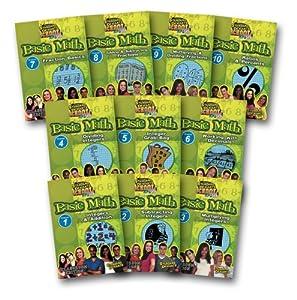 Sds: Basic Math 11 Super Pack (DVD and CD)