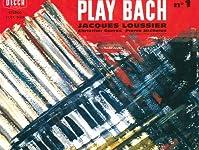 「トッカータとフーガニ短調 {tocata und fuge d-moll}」『ジャック・ルーシェ {jacques loussier}』