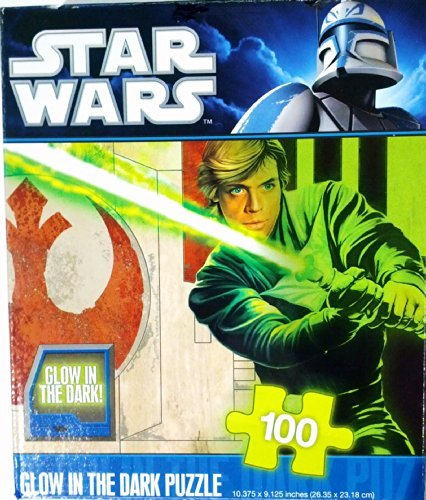 Star Wars Glow in the Dark 100 Piece Puzzle ~ Luke - 1