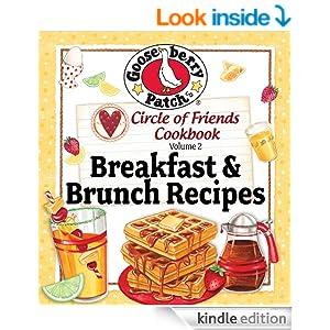 Circle Of Friends 25 Breakfast & Brunch Recipes