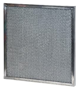 16x20x1 (15.63 x 19.63) Metal Mesh Filter with Carbon