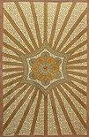 Sunshine Joyreg Flowering Star Tapestry  6021590 Inches