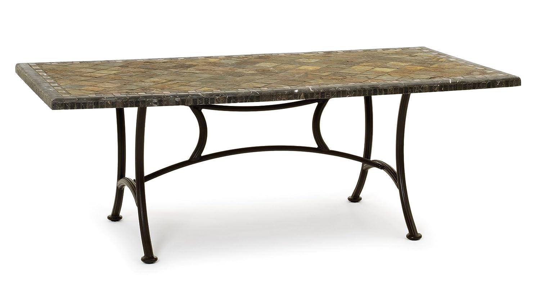 Garvida Tisch Roma Grande 1 - Farbe: Mocca, Größe: 203 x 107 x 74 cm