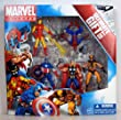 Marvel Universe 3 3/4 Inch Action Figure 5Pack Avengers Ultimate Gift Set SpiderMan, Wolverine, Iron Man, Thor Captain America